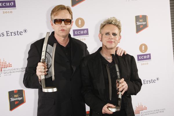 Depeche Mode @ ECHO 20101 © BVMI / Markus Nass