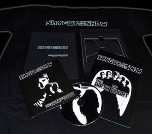 Artwork der neuen CD The Birth of Doubt von Shy Guy at the Show - ausgefallen und aufwendig